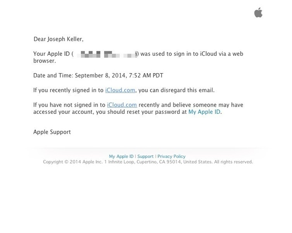 Will someone know if I log in to their iCloud? - Quora
