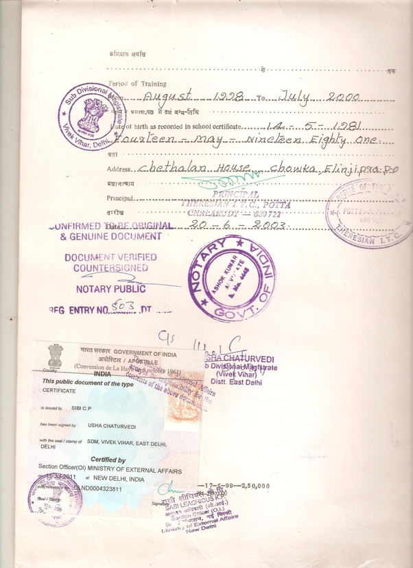 What Is The Process For Birth Certificate Certificate Apostille Quora