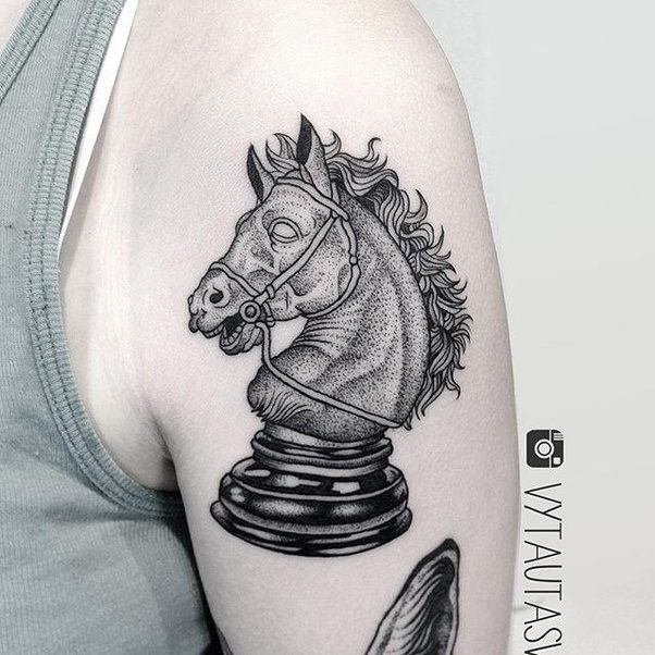 What Is The Symbolism Of A Knight Chess Piece Tattoo Quora
