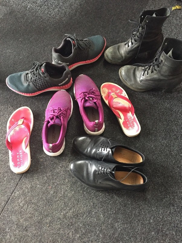 I have way too many shoes to go through all of them individually, so rather  than that, I'm just going to talk about some of the shoes I wear the most.