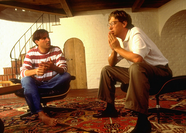 Did Steve Jobs hate Bill Gates? What happened when two of the
