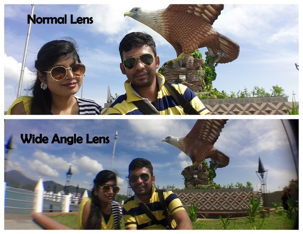 What is wide angle lens and what is its use in smartphone dual