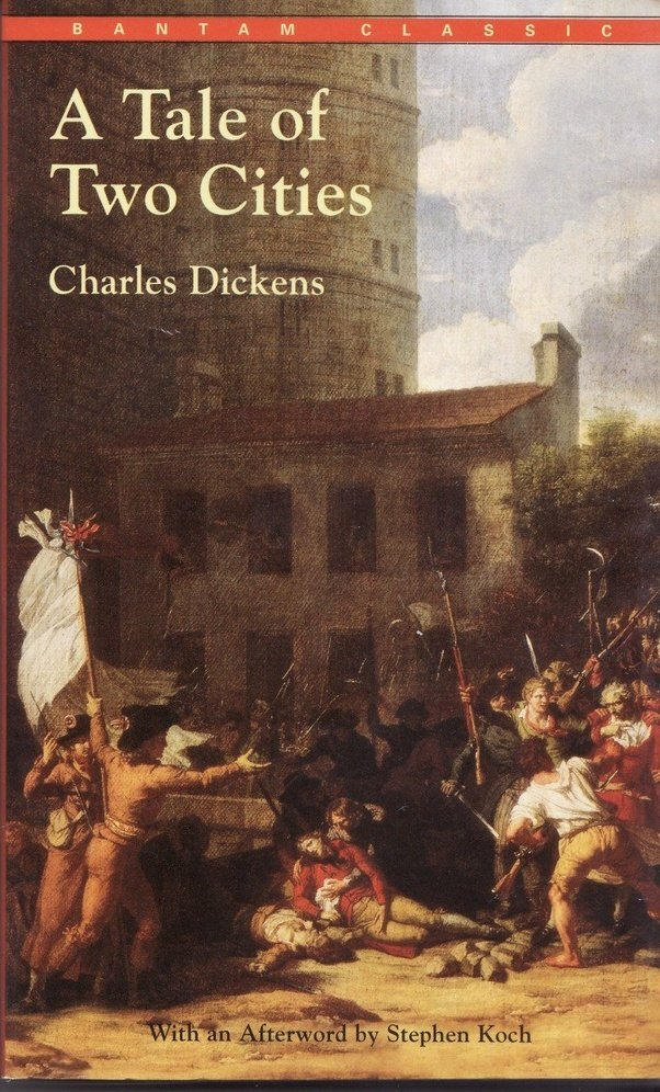 a literary analysis of the book a tale of two cities by charles dickens Get the most out of your book club discussion with these reading questions and topics for oprah's book club selection a tale of two cities by charles dickens.