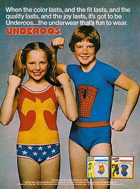 captain marvel underoos