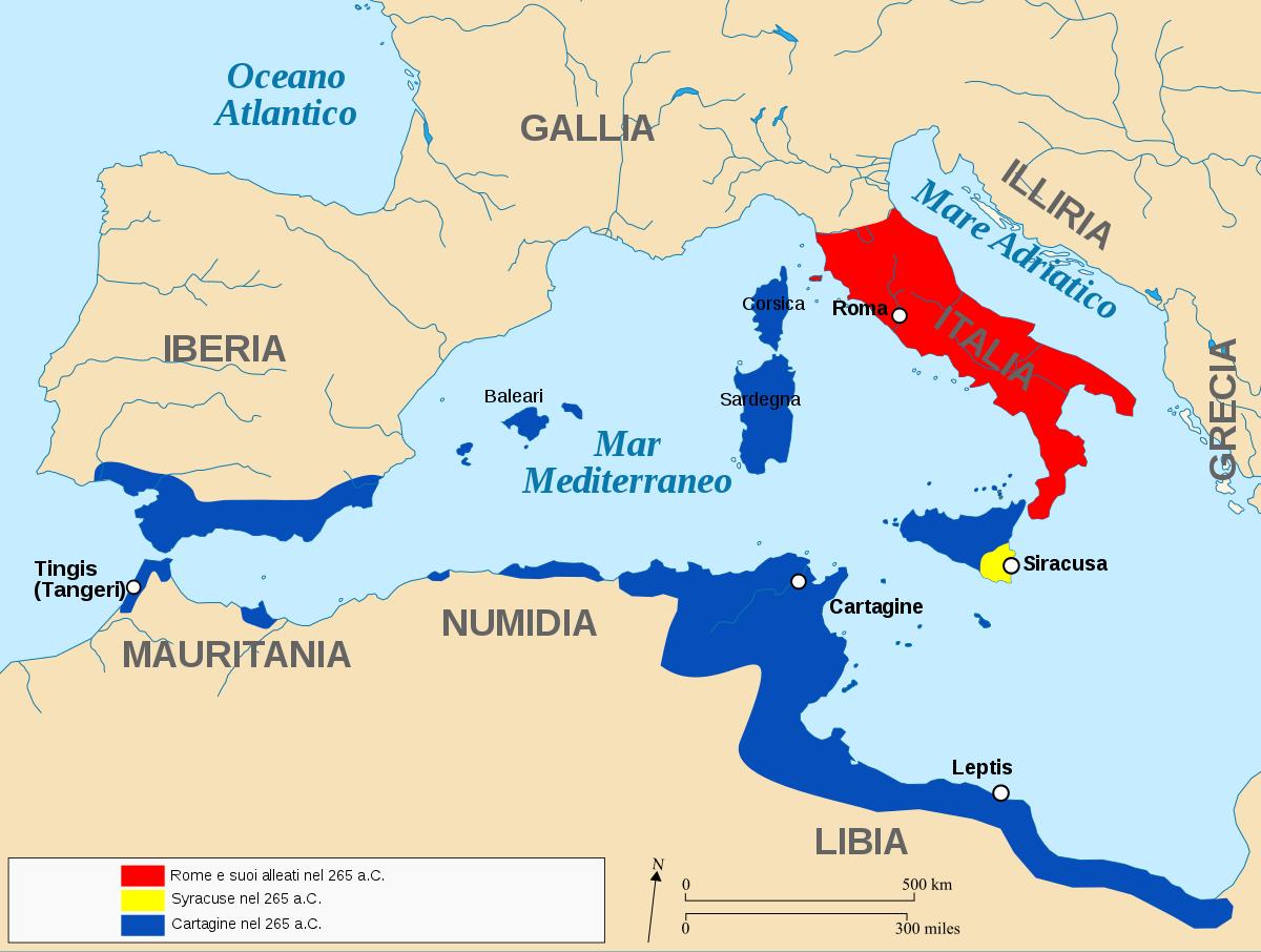 Carthage Map on
