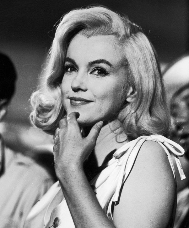 Did Marilyn Monroe Ever Have Straight Hair Quora
