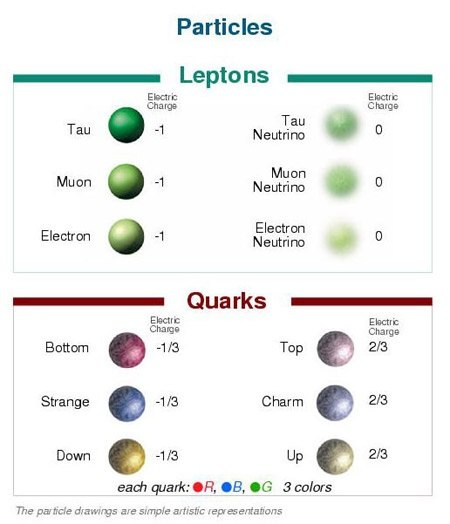 Science Physics Difference: What Is The Difference Between Leptons And Quarks?