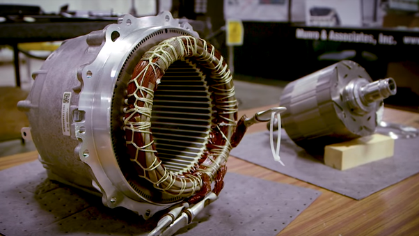What does a Tesla car's electric motor look like? - Quora