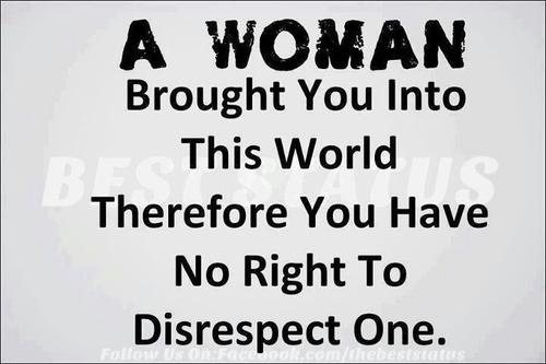 What is a man to a woman