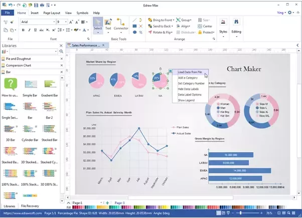 What is a good ideally free tool for creating great looking charts what is a good ideally free tool for creating great looking charts the charts in excel are not great visually im looking for a tool that lets you ccuart Choice Image