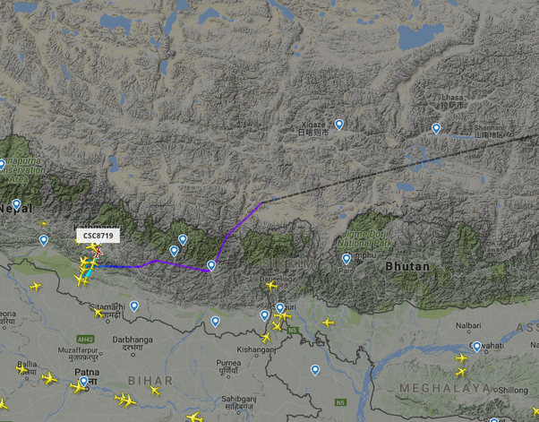 Why Don T Planes Fly Over Tibet Quora