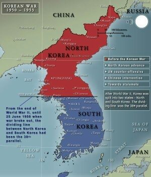 Why was korea split into north and south after ww2 quora leaders of both zones wanted to rule whole countryso north korea invaded south korea in 1950 gumiabroncs Image collections