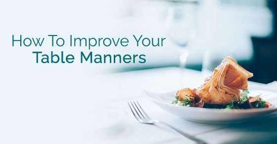 Answer Wiki & Why are table manners important? - Quora