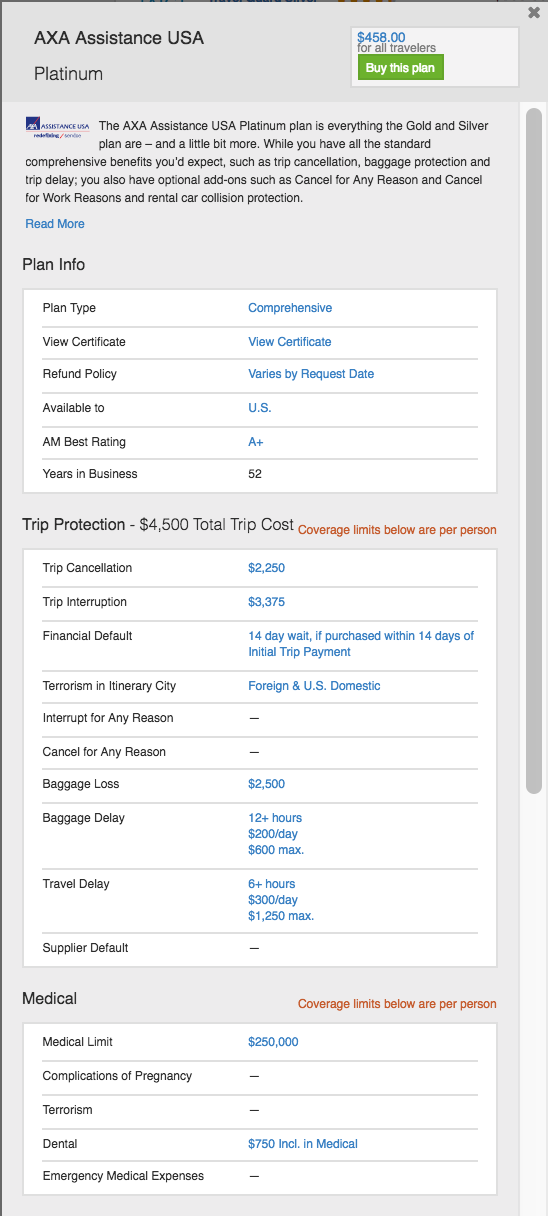 Does Costco provide travel insurance How was your experience with – Travel Sites With Payment Plans