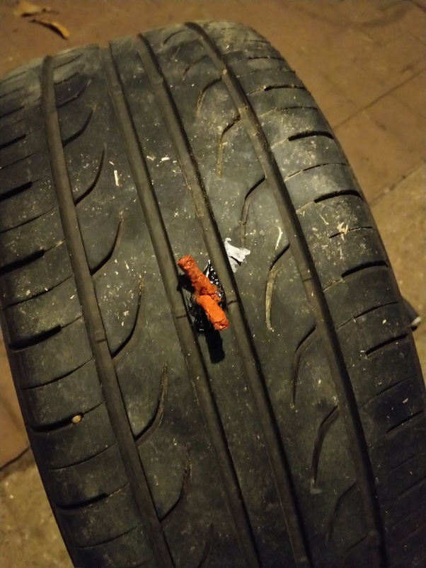 Nail In Tire Repair >> If You Have A Nail In Your Tire Should You Take It Out Or