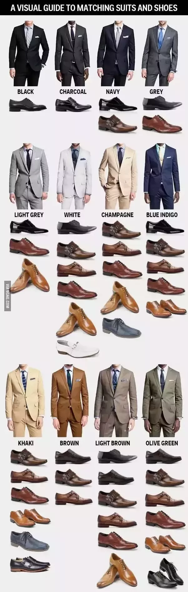What Color Shoes Should I Wear With A Gray Blazer Quora