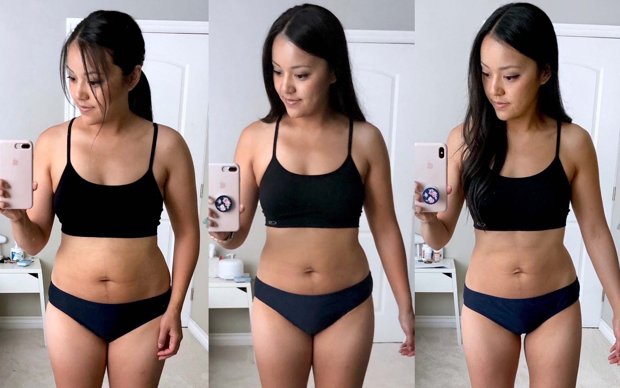 How can a girl lose inches from her waist and get flat abs? - Quora