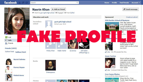 How to create a fake Facebook profile - Quora