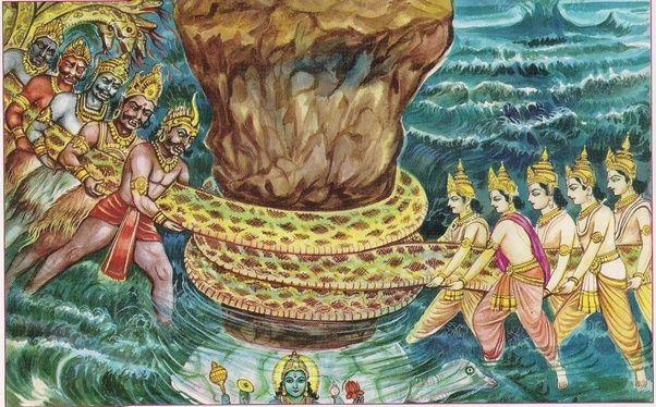 ¿El hinduismo (origen / historia de los dioses) tiene alguna relación con los acontecimientos políticos e históricos de la India como dinastía o reino?