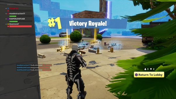 Fortnite Solo Tips In Fortnite Battle Royale Solo What Is Your Best Strategy To Win When You Are One Of The Last Two Players Quora
