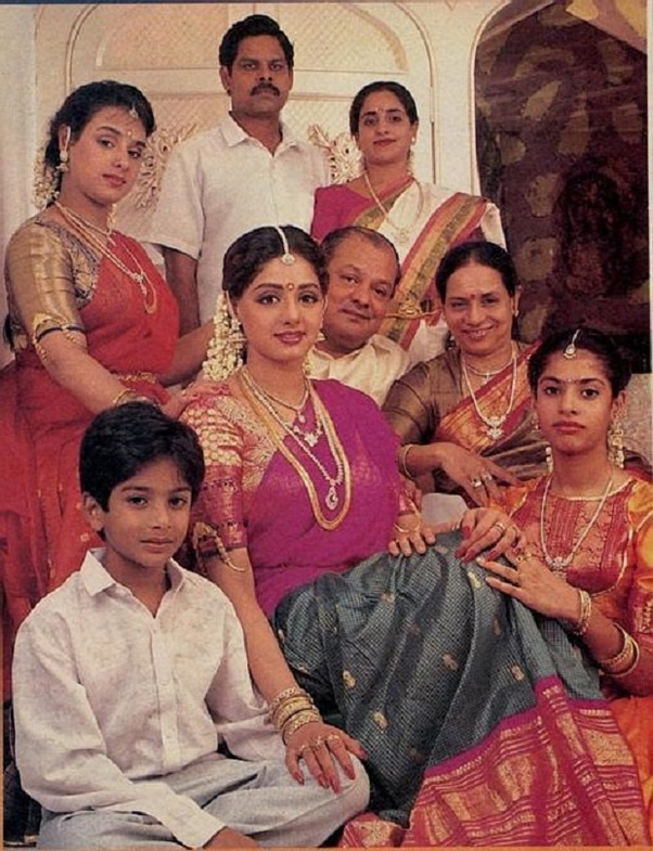 What are some interesting facts about Sridevi, the Indian