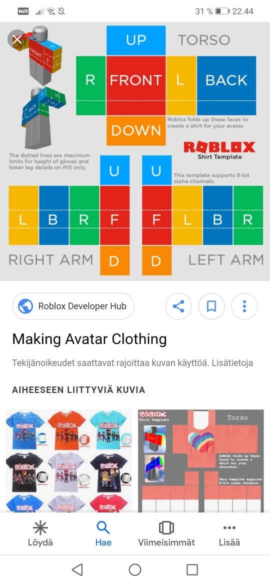what website do i go on to make clothes on roblox