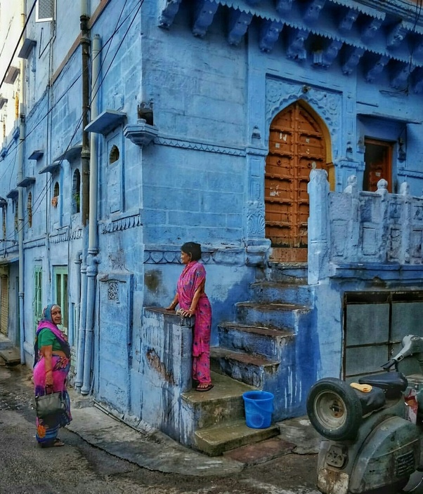 Why Are Houses In Jodhpur Painted In Blue Quora