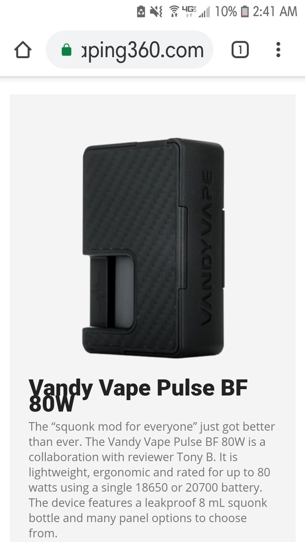 Vandy vape pulse dual