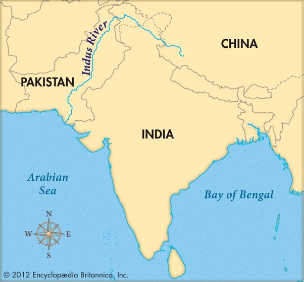 Indus River Mouth On Map on indus river delta map, tigris mouth map, indus valley map,