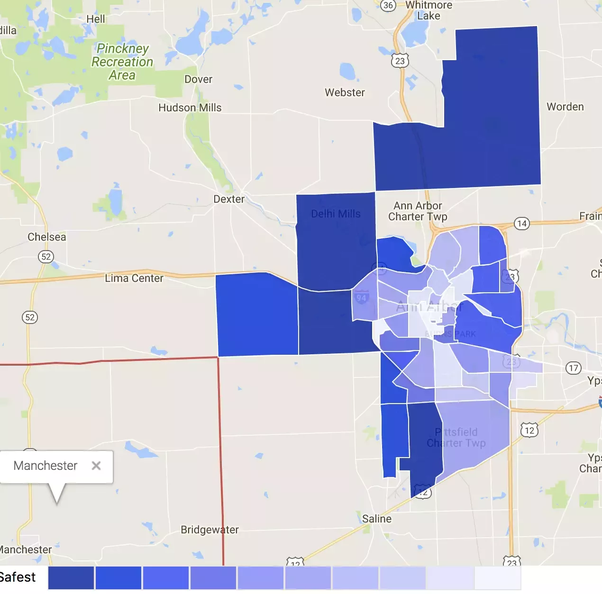 How safe is Ann Arbor, Michigan? - Quora