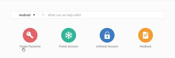 how to change wechat password