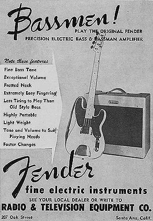 Why is Fender Bassman a guitar amp and not a bass amp? - Quora