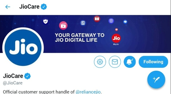 jio customer care number for other users
