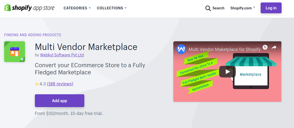Does Shopify allow a multi vendor option? Is it possible to