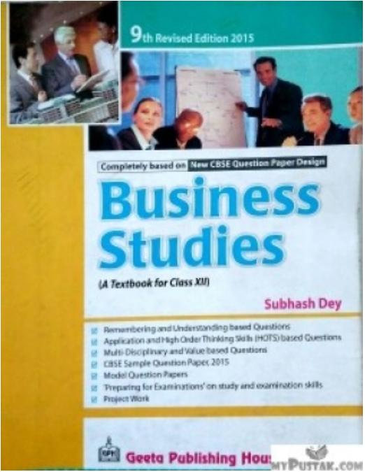 A Level Business Studies Book Pdf
