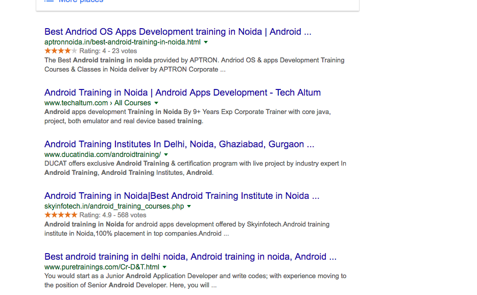 Which Is Good Cetpa Or Ducat Noida For Summer Training Quora