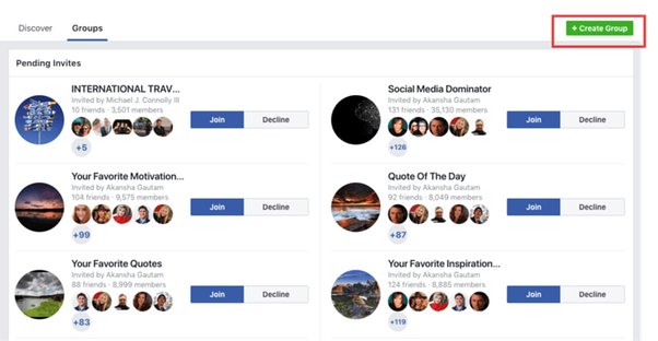 How to share to multiple groups at the same time on Facebook