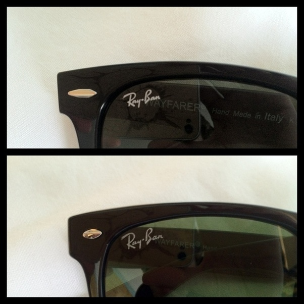 c44d55e0a3c9 How to identify the originality of Ray-Ban sunglasses - Quora