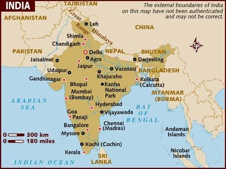 What Is The Official Map Of India Quora - Official world map