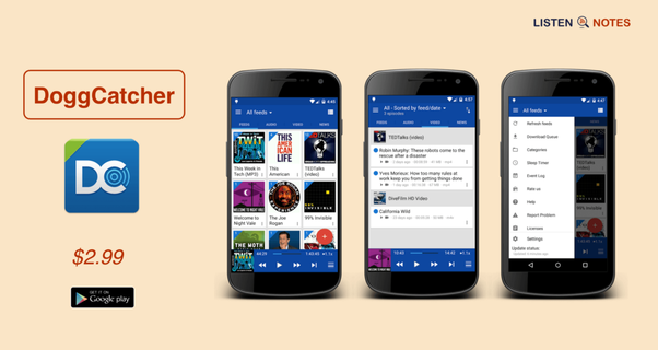 Is there a podcast app for Android that doesn't suck? - Quora