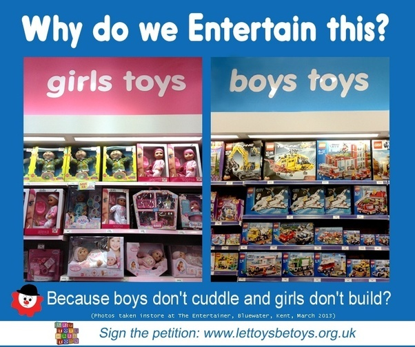 Girl Toys For Boys : What are your thoughts on how gender stereotyping affects