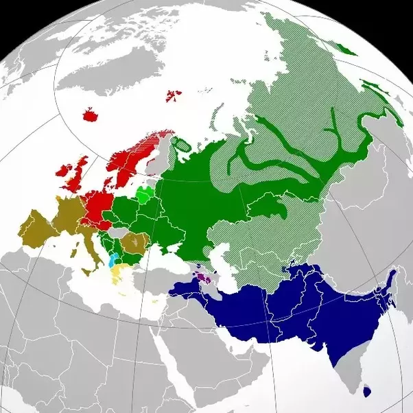 Why Are Hindi And English A Part Of The Same Language Family While - Language family map