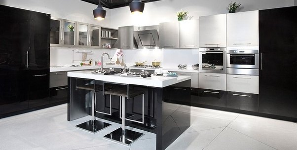 Superbe But Black Is My Favourite Color. Here You Will Some More Ideas And Modular  Kitchen Designs And L Shaped Modular Kitchen Manufacturer L Shaped Modular  ...