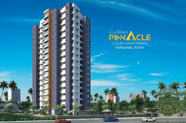 Luxury Flats In Kochi By The Confident Group Pinnacle