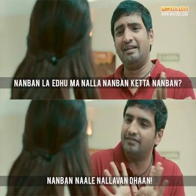 What Are Some Best Dialogues In Tamil Cinema Quora