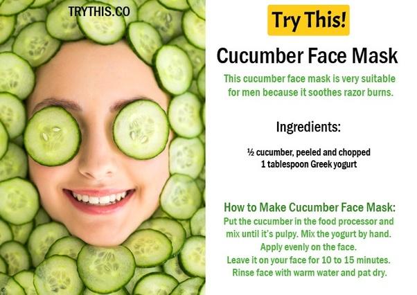 Opinion cucumber facial benefits business