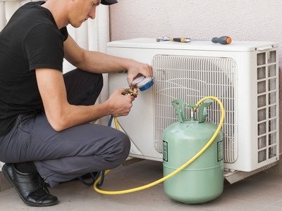 What is the cost of filling a gas in a split AC? - Quora