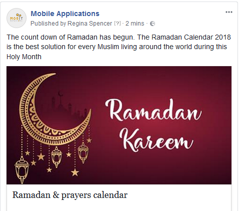 The count down of Ramadan has begun  What would be best