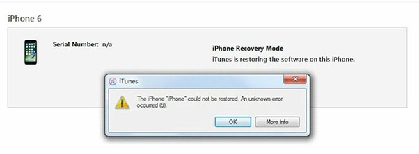 What is iTunes error 9, and how can I fix it? - Quora