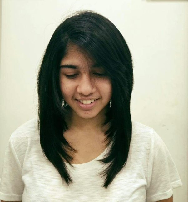 hairstyle for oval face indian girl hairstyles